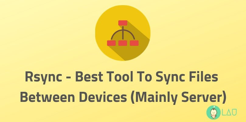 rsync best tool sync files between devices
