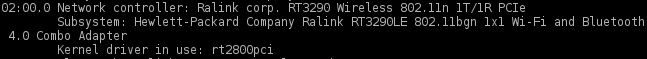 arch linux wifi kernel compatibility