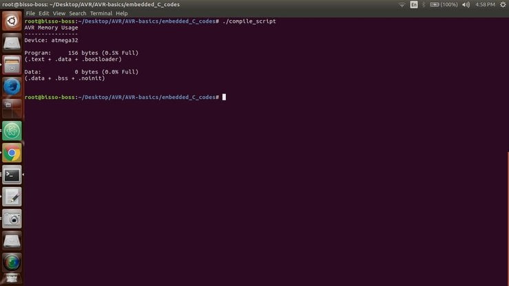 compile code from c to hex