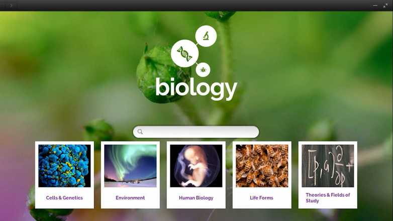 learn biology with endless os