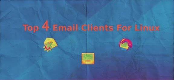 top 4 email clients for linux