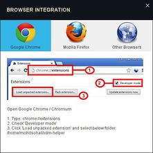 xtreme download manager browser integration in Linux
