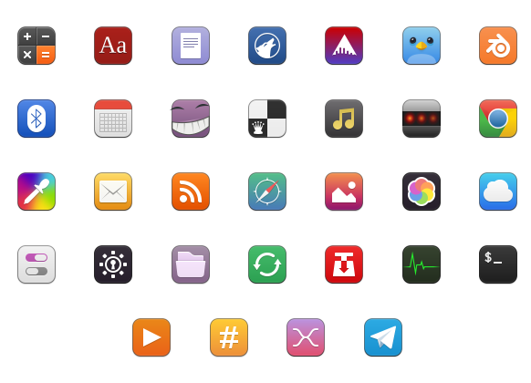 Moka icon theme for linux