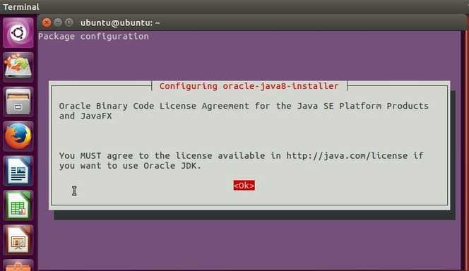 configure java8 in ubuntu