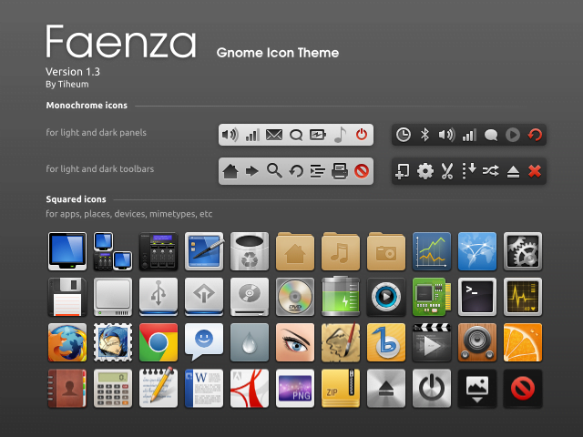faenza icon theme for linux