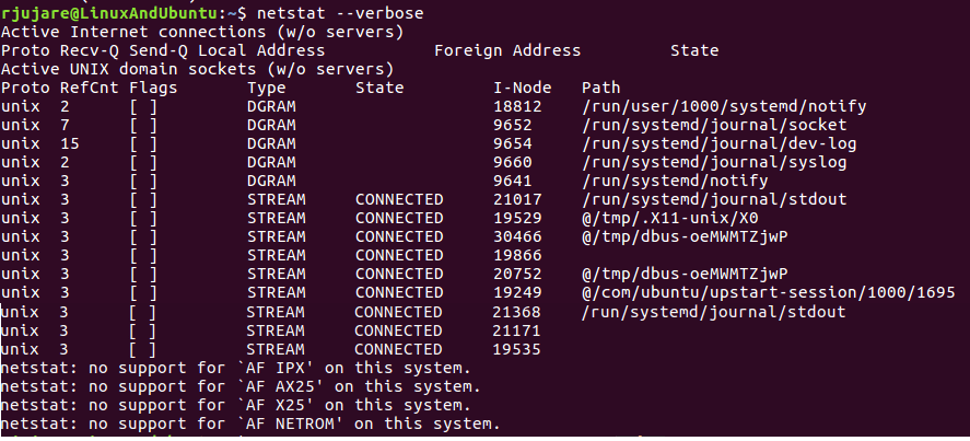 Linux Network Management with