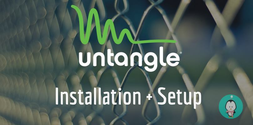 how to install and setup utangle firewall
