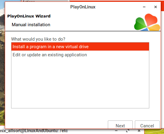 install non listed programs on linux