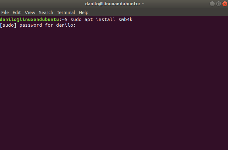 install package in ubuntu deb
