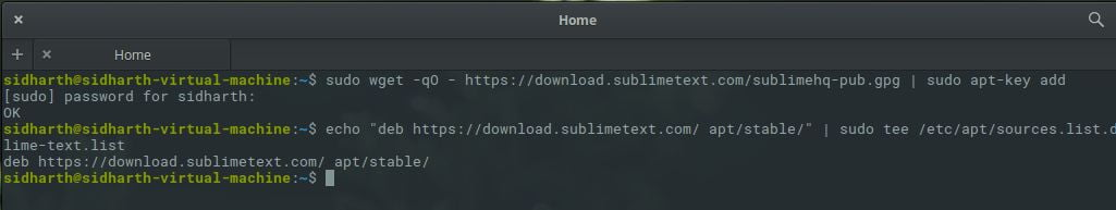 How To Install Sublime Text 3 Stable In Linux - LinuxAndUbuntu