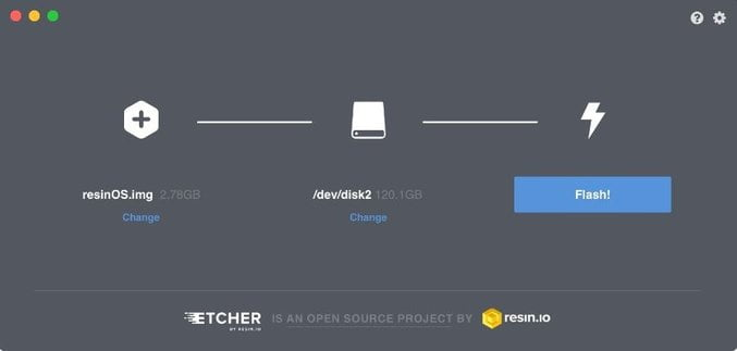 make portable usb with etcher