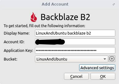 setup backblaze b2 cloud with cloudberry