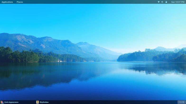zorin os gnome desktop screenshots