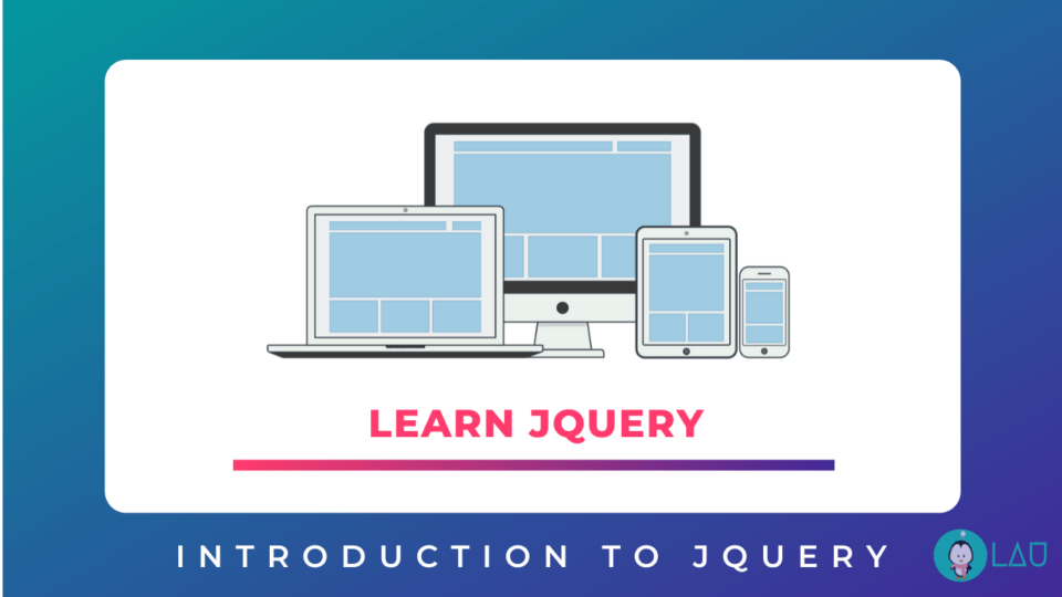 Introduction to jQuery Learn jQuery